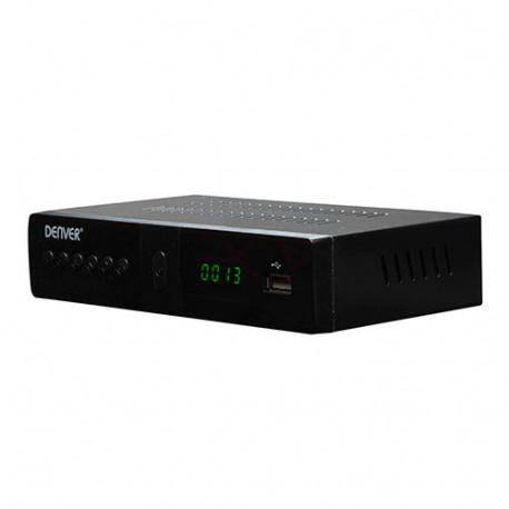 Receptor de satélite DVB-S2 c/ HDMI y USB DENVER. Mod. DVBS205HD