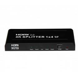 Divisor HDMI Edision 4K Splitter 1E x 4S. Mod. DIVI4