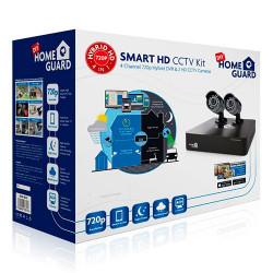 Kit CCTV cableado HD 2 cámaras + disco duro 1TB. Mod. HGDVK467021TB