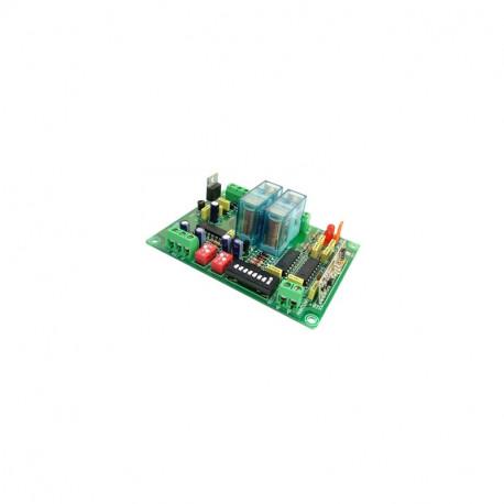 Receptor RF 2 canal 12/24VCC Cebek. Mod. TL-102