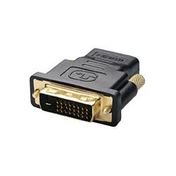 Conector Adaptador DVI-D Macho - HDMI Hembra 19P Tipo A. Mod. 1957-A