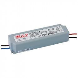 Fuente de alimentación 12V IP67 Premium 60W. Mod. GPV-60-12