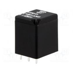 Relé electromagnético SPDT Uinductor 12VCC 10A de coche 130Ω. Mod. 5-1393273-6
