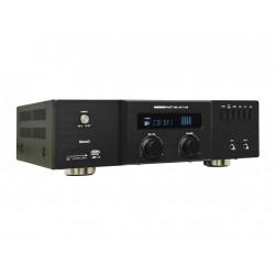 Amplificador mezclador 2x 60W @4 ohm. USB/SD. Bluetooth. Mod. AML 100 T USB